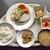 新潟県自治会館食堂 - 料理写真:「A定食」& 自分で取った煮物・漬物