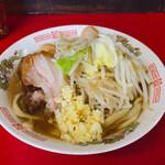 蓮爾 - 料理写真:♦︎ミニラーメン(680円)+うずら(100円)