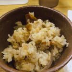 蕎麦翁 百才笑 - 瀬戸名物五目飯