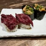 新宿 歌舞伎町 肉寿司 -