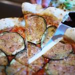 14623603 - 茄子のピザ