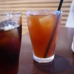 トラットリア イル コンパーニョ - アイスコーヒー、アイスティー