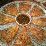 韓国家庭料理 オウリム - 海鮮チヂミ