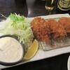 地蔵 - 料理写真:「牡蠣フライ」単品(4個のところ先に3個で登場)