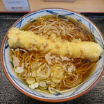 そばの神田 - ちくわ天蕎麦380円