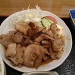 和彩料理やまなか - 豚の生姜焼き定食