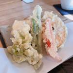 蕎麦きり さいとう - 野菜天ぷら 種類豊富で嬉しい♫