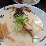 つけ麺専門 麺処 虎ノ王 - 博多ラーメン750円
