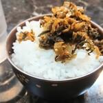 つけ麺専門 麺処 虎ノ王 - 麺類を注文したら、ご飯食べ放題