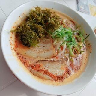 小豆島ラーメンHISHIO - 料理写真:ひしおレッド辛めオーダー