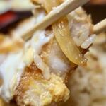 とんかつ繁 - カツ丼(1250円)
