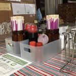 上杉食品 - 卓上の薬味たち