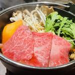 ebisukoubegyuushiorianyamashiro - A5神戸牛 すき焼き