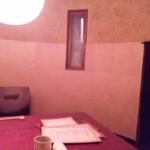 青山 彩 - 酒樽個室内部