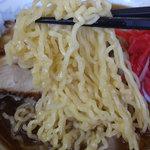 八屋 - しゃっこいラーメンの麺アップ!