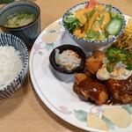 達磨 - チキンカツ定食