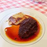 パザパ - ⚫牛ホホ肉の赤ワイン煮
