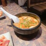 Gyouten - 冬のぎょうてんランチのスープ
