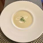 アニオン - コールスローとスープが先に〜スープは薩摩芋のポタージュ♡