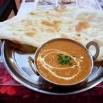 インドレストランアンドバー SITAL - 本日のランチ(キーマとシーフード)