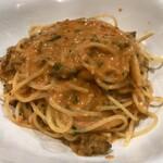 Ciccio tamaya - 猪のトマトクリームソースパスタ