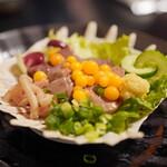 和食酒どこ おがた - 料理写真:すっぽん肝刺し