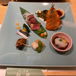 和源 - 鰹のタタキとバイ貝が美味しかったです♡
