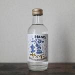 道の駅 京丹波 味夢の里 - ドリンク写真:京都丹後 琴引の塩サイダー☆