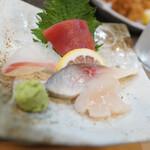旬肴 Kaku - 「ちょい飲み」の刺身