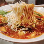 麺屋 愛心 - 香辣麻婆麺 辛さ1/4 1100円