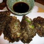 リトル沖縄 - もずくの天ぷら