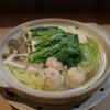 Komatsushokudou - 料理写真:鶏つくね鍋