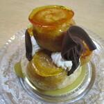 ボン アトレ - アーモンドクリームとチョコレートのプチシュー!