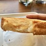 アレ フランス カフェ ダリア - メープルシュガートースト260円