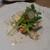 ル レストラン - 料理写真:ゼラチンをへらした豚足、菜の花、かぶ、スジナシインゲン、リーフ