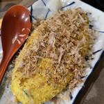 桃狼 - 納豆オムレツはワイフの好物 醤油と相性が良いのでついつい酒が進みます