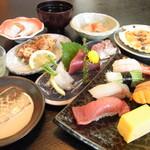 芝勝寿司 - 料理写真:おまかせコース(一例)