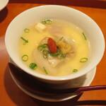 馳走 かく田 - お椀:地蛤の茶碗蒸し