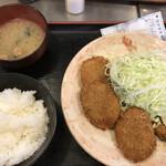 とん太 - ヒレカツ定食
