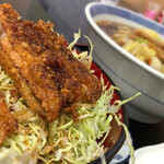 若松食堂 - 料理写真:ミニソースカツ丼