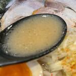 Koganeya - 白とんこつスペシャルスープ