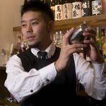 マスターの台所 - コンテストでも受賞する凄腕バーテンダー:中田さん!あなた好みのカクテルを♪