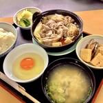 松木家 - ランチすき焼き定食
