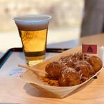 ザ・コナモン・バル 利休 - たこ焼きとビール