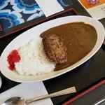 札幌カリーぱお - ハンバーグカレー(小ライス) 700円