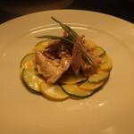 ビルーチェ - ピエモンテ風イタリア産ウサギ肉のマリネ