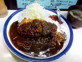 キッチン南海 早稲田店 - カツカレー