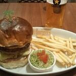 Island Burgers - テリヤキエッグバーガー