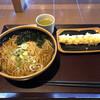花園蕎麦 - 料理写真:かけそば、410円。ちくわ天、110円。