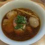 中村麺三郎商店 - 味玉醤油らぁ麺